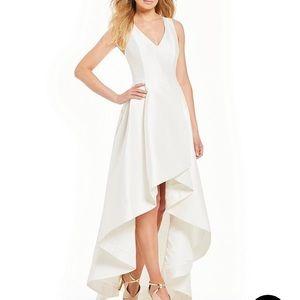 Calvin Klein Taffeta Gown